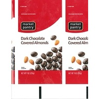 Market Pantry Dark Chocolate Covered Almonds