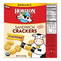 Horizon Cheddar Sandwich Crackers