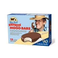 Blue Bell No Sugar Added Mooo Bar