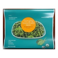 Simply Balanced 10-oz Frozen Organic Chopped Spinach