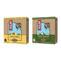 CLIF BAR Nuts & Seeds Energy Bars and CLIF BAR Sierra Trail Mix Energy Bars