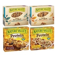 Nature Valley Protein Chewy Bars and Nature Valley Simple Nut Bars