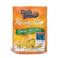 Uncle Bens Ready Rice Garden Vegetable Rice